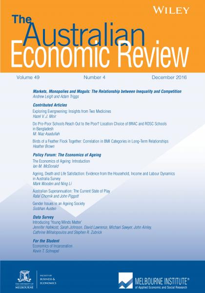 Australian Economic Review