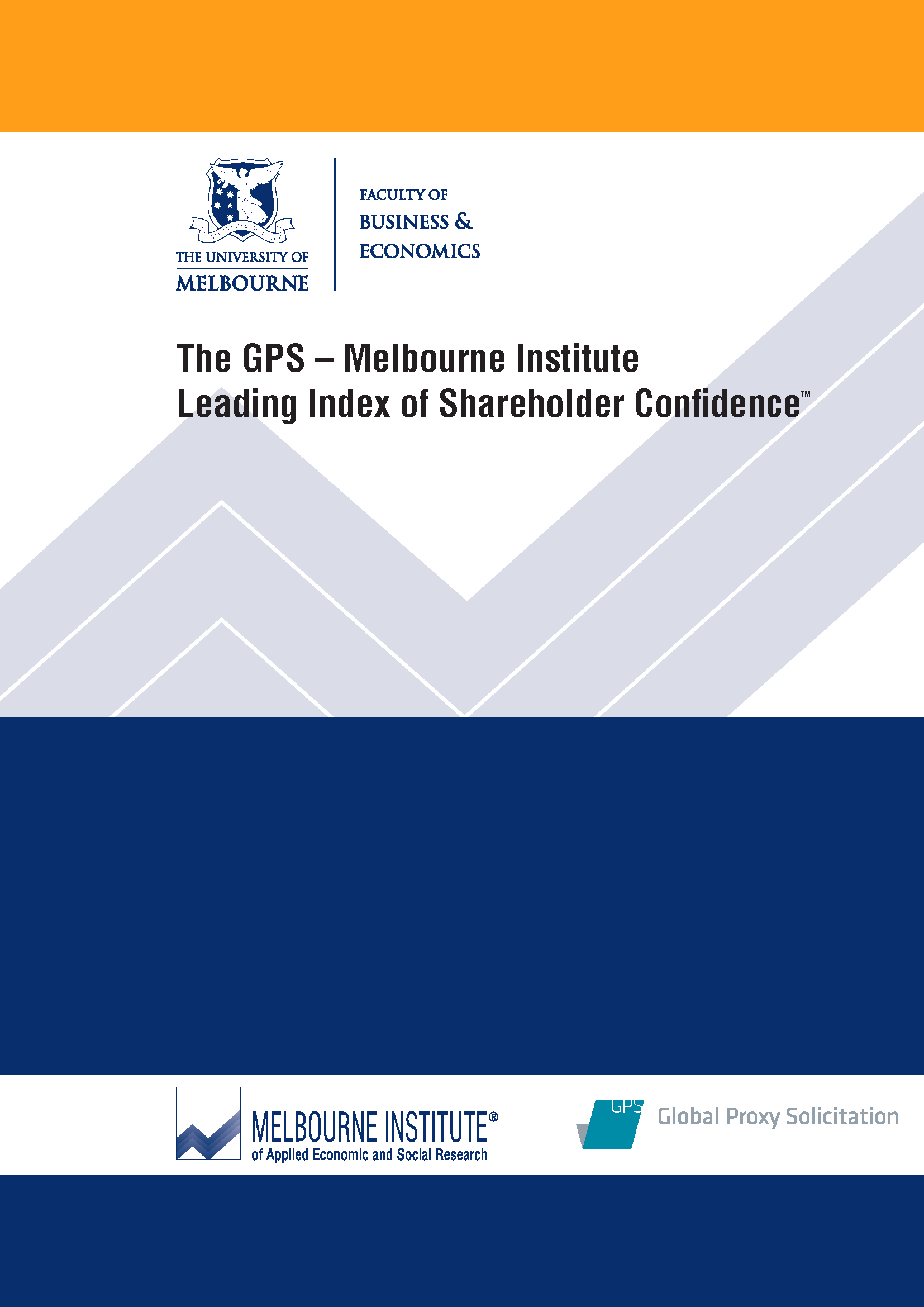 The GPS–Melbourne Institute Leading Index of Shareholder Confidence