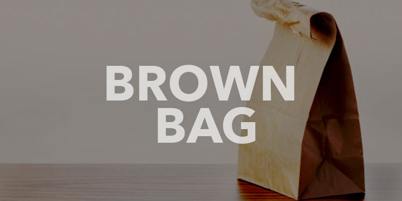 Brown Bag banner