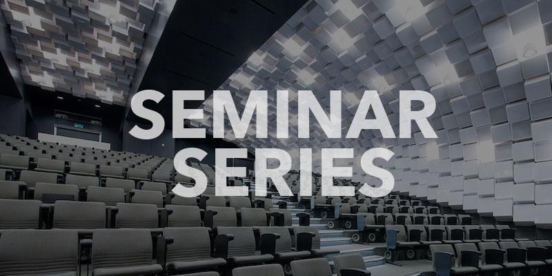 Seminar Series banner